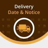 Magento Delivery Date and Notice Extension