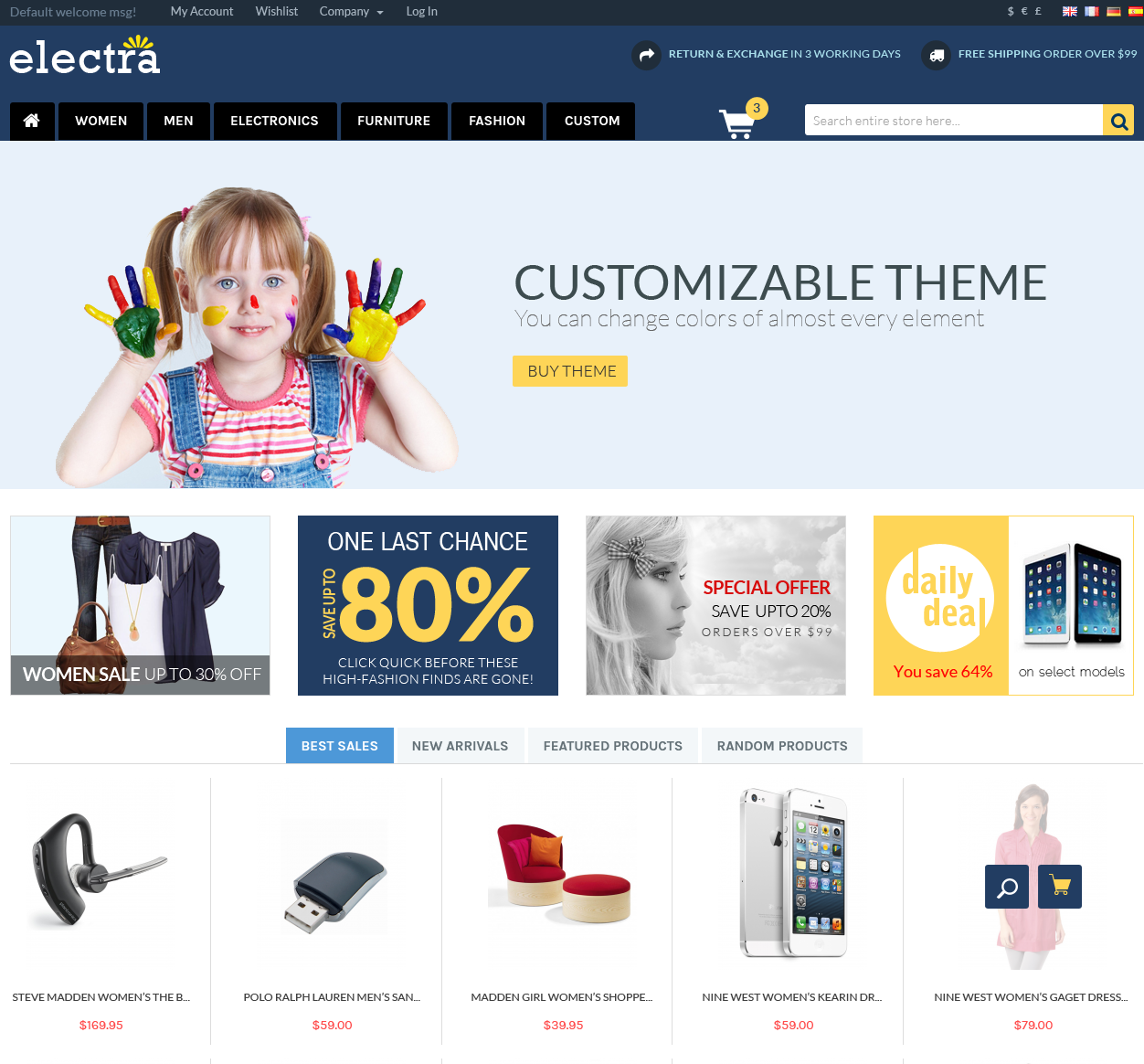Electra (out of stock and no longer supported)